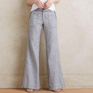 Anthropologie Pilcro Linen Pants